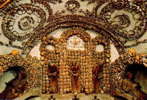 The Capuchin Crypt, in Rome, Italy