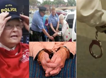 102 year-old lady gets arrested on her birthday, here is why