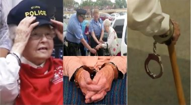 102 year-old lady gets arrested