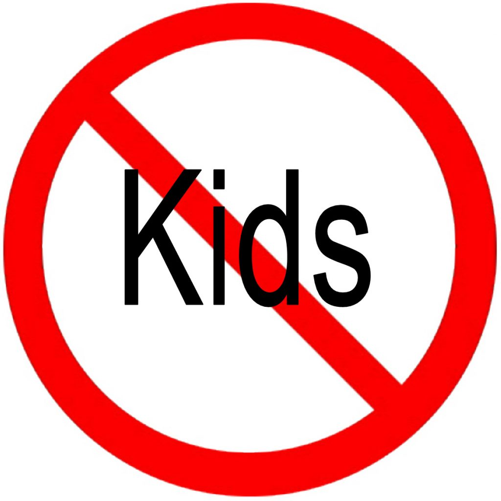This image has an empty alt attribute; its file name is no-kids-1024x1024.jpg