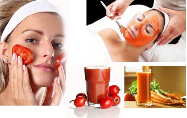 Get rid of pimples and blackheads with Tomato