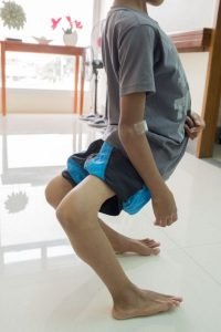 Filipino Boy With Deformed Knees